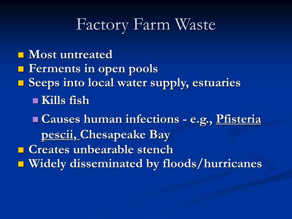 Factory Farm Waste