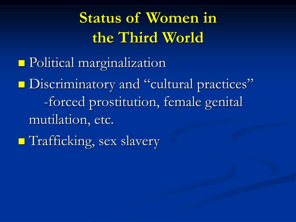 Status of Women in