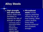 alloy steels38