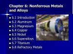 chapter 6 nonferrous metals and alloys