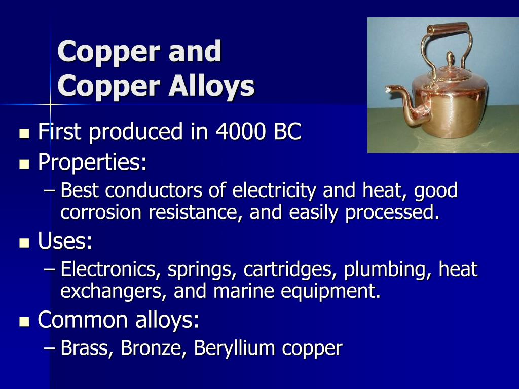 Copper and