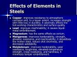 effects of elements in steels31