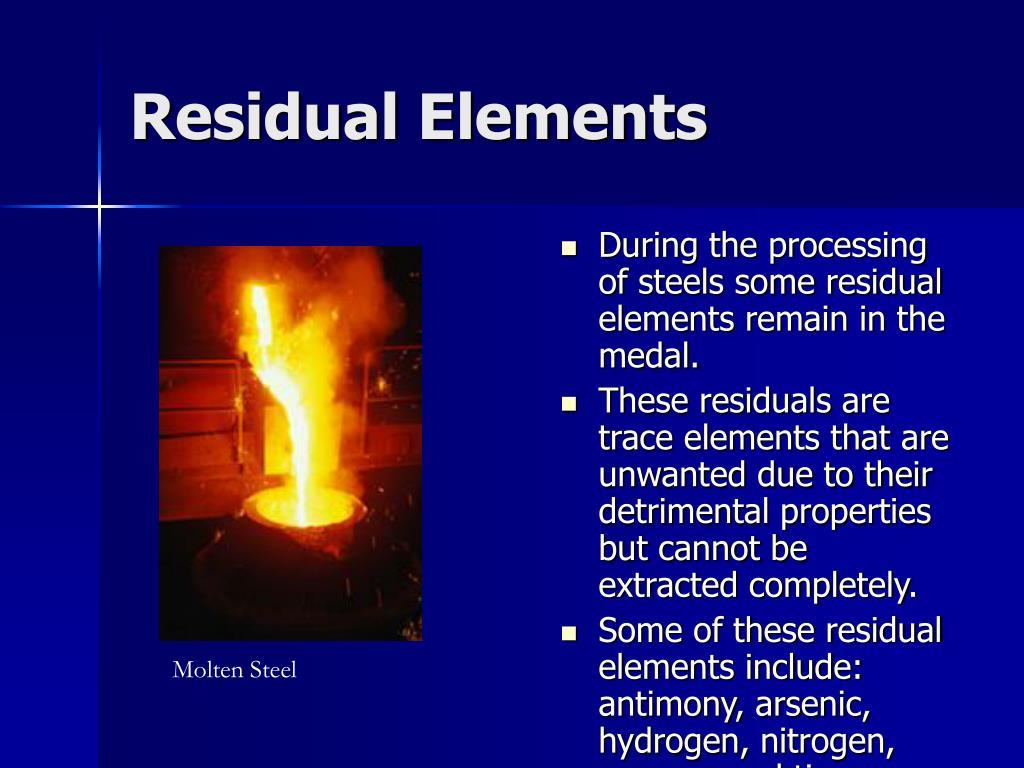 Residual Elements