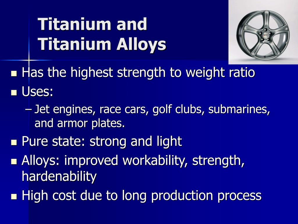Titanium and