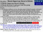 russia biggest spy threat to britain