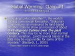global warming claim 1 the world is heating up20