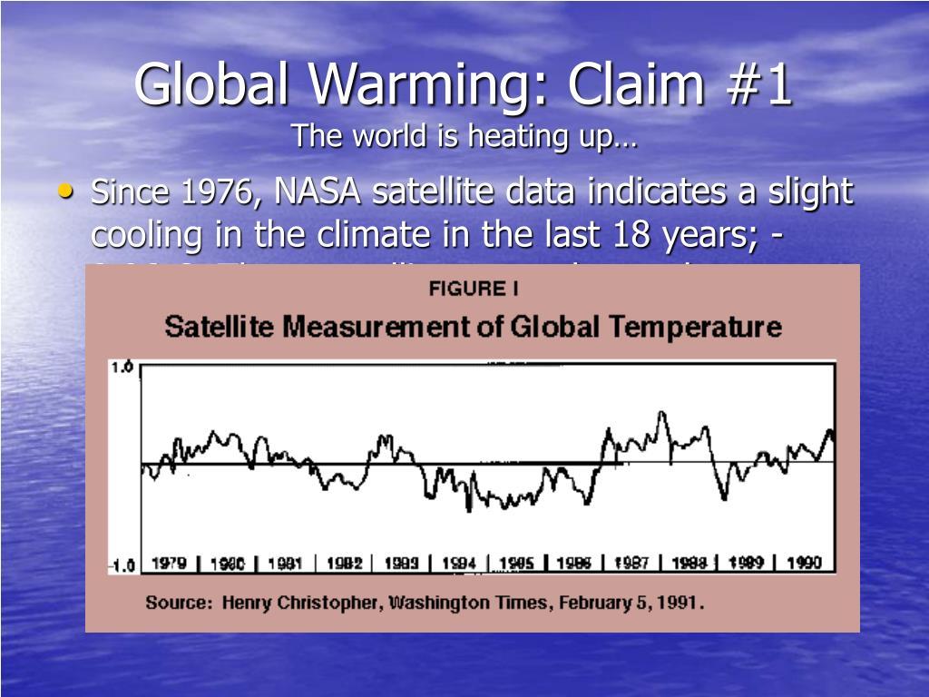 Global Warming: Claim #1