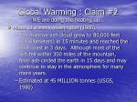 global warming claim 2 we are doing the heating up29
