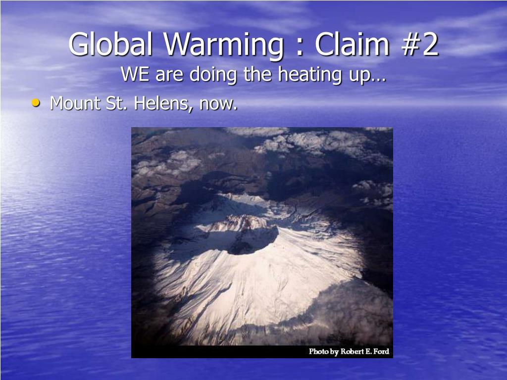 Global Warming : Claim #2