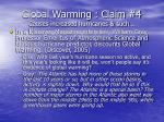 global warming claim 4 causes increased hurricanes such50