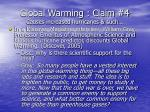 global warming claim 4 causes increased hurricanes such51