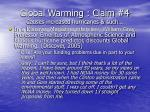 global warming claim 4 causes increased hurricanes such52