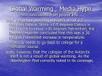 global warming media hype poor conclusions from poorer info54