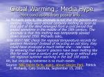 global warming media hype poor conclusions from poorer info58