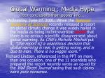 global warming media hype poor conclusions from poorer info59