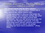 global warming media hype poor conclusions from poorer info64