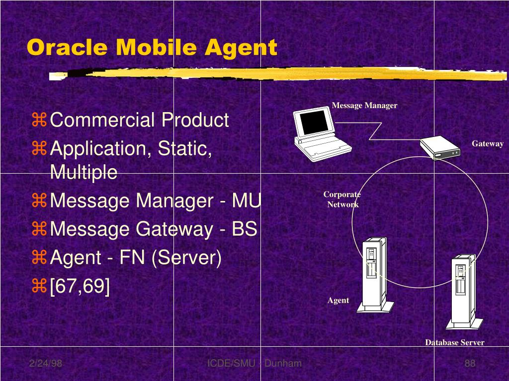 Oracle Mobile Agent