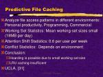 predictive file caching
