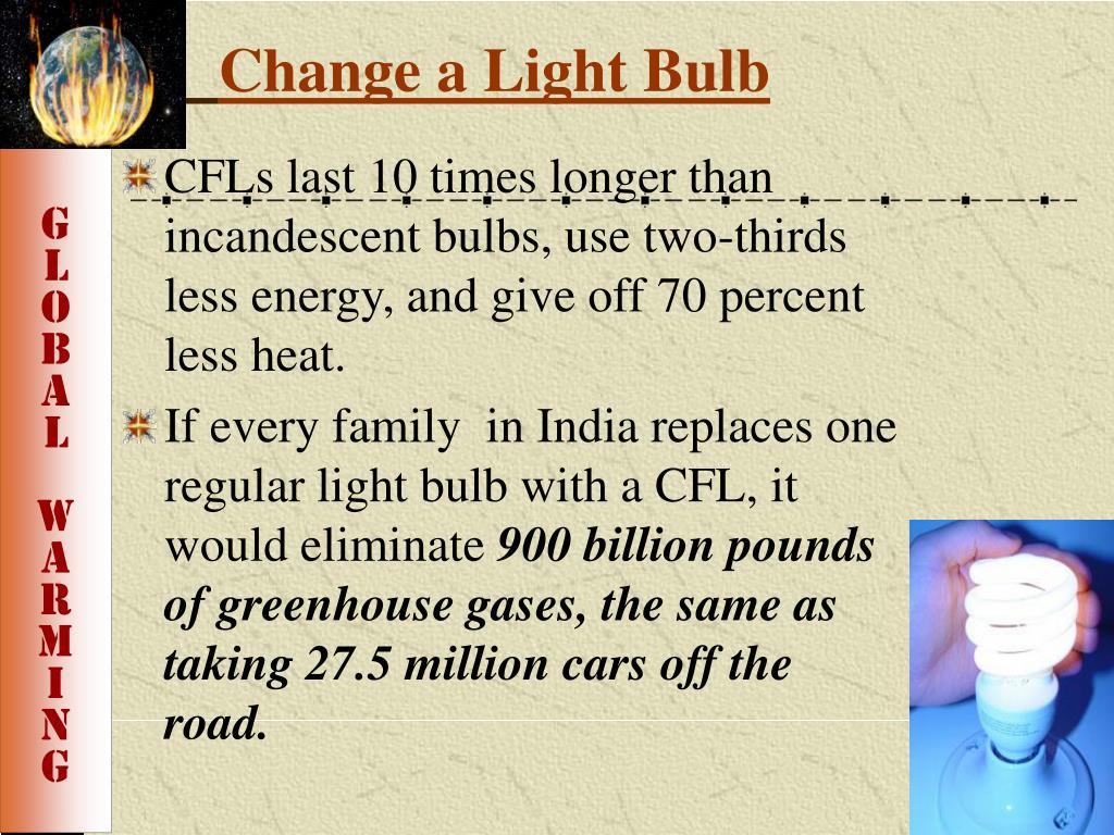 Change a Light Bulb