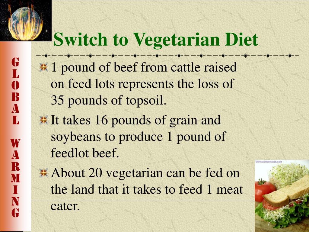 Switch to Vegetarian Diet