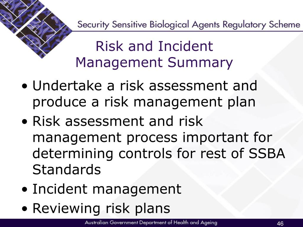 Risk and Incident