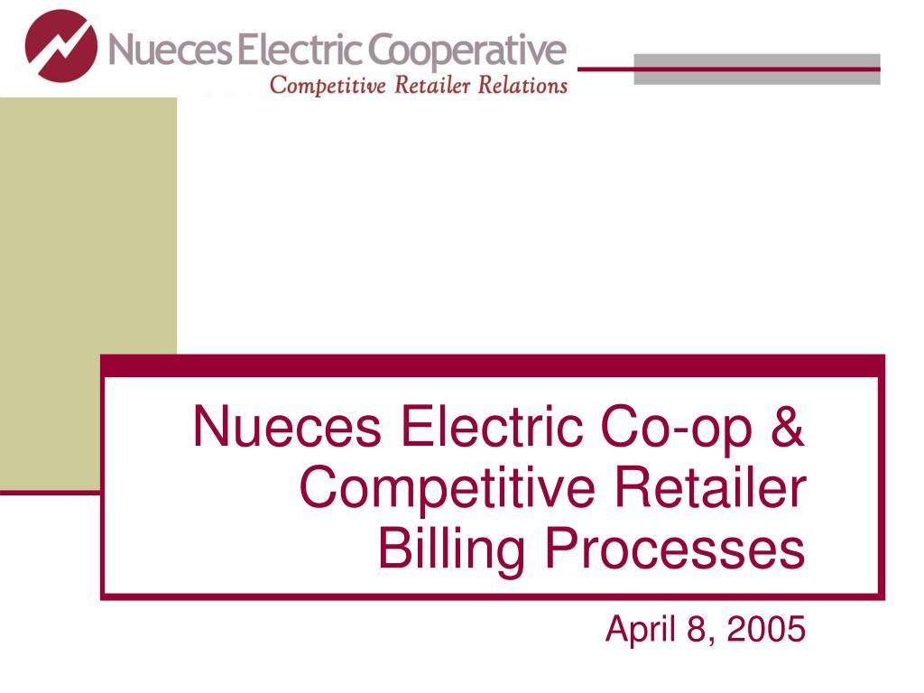 Nueces Electric Co-op & Competitive Retailer