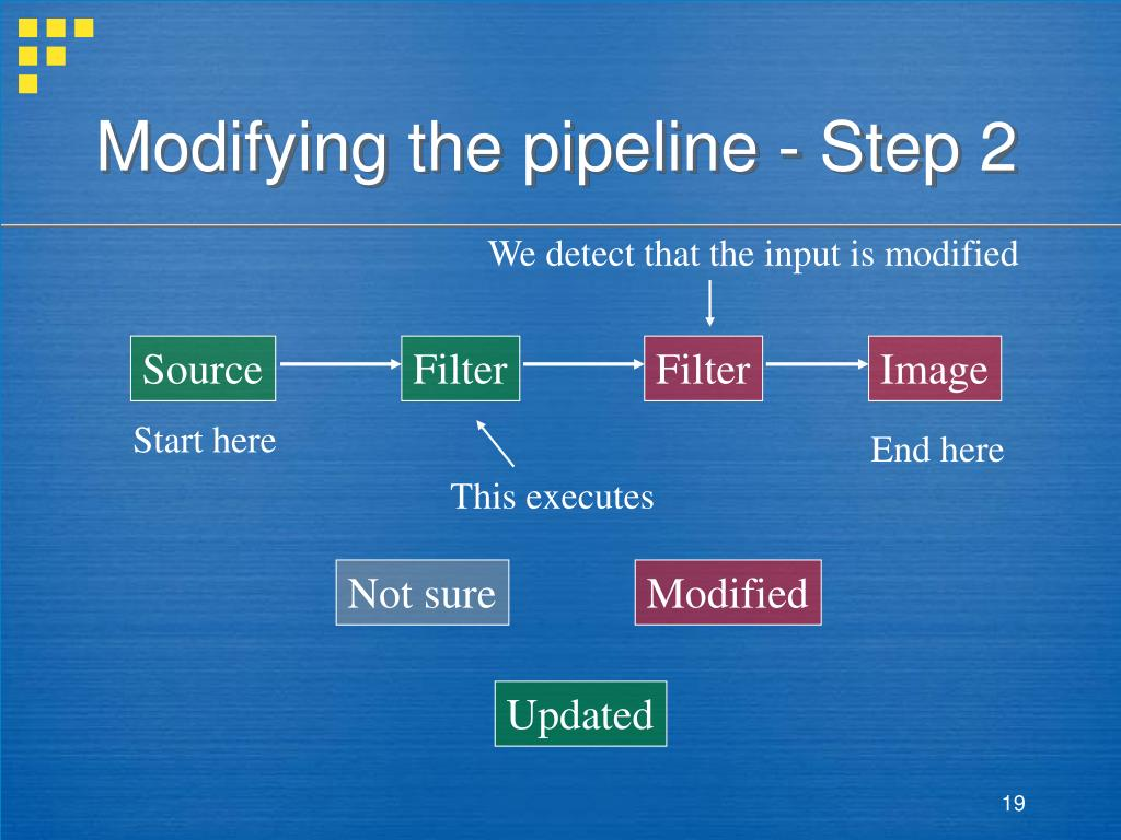 Modifying the pipeline - Step 2