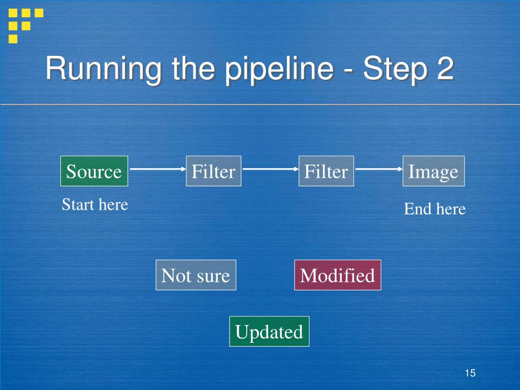 Running the pipeline - Step 2