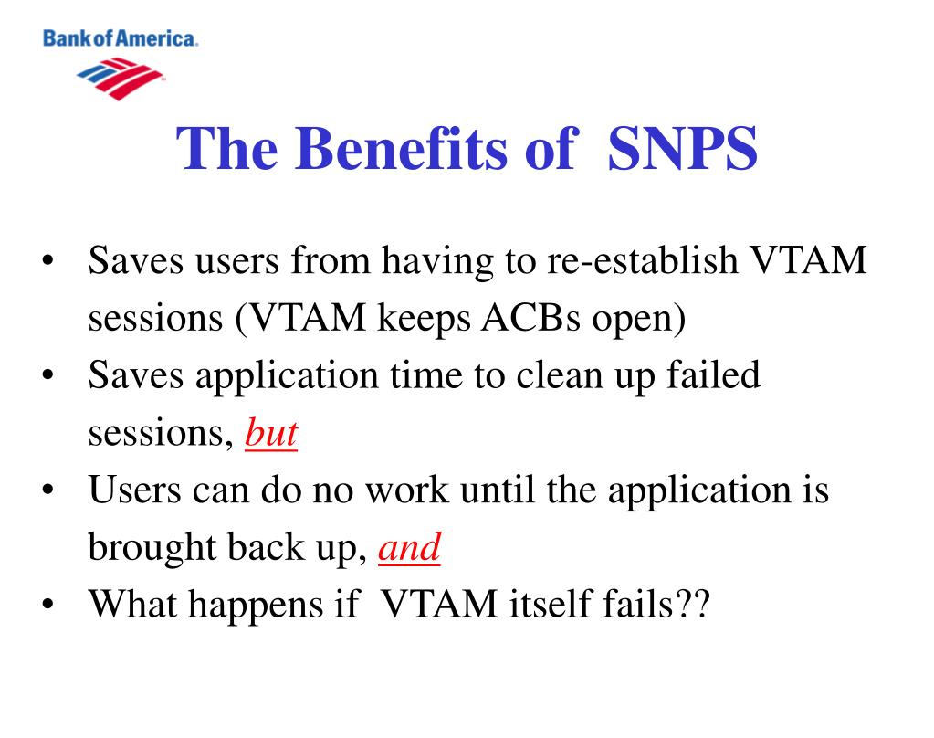 The Benefits of  SNPS