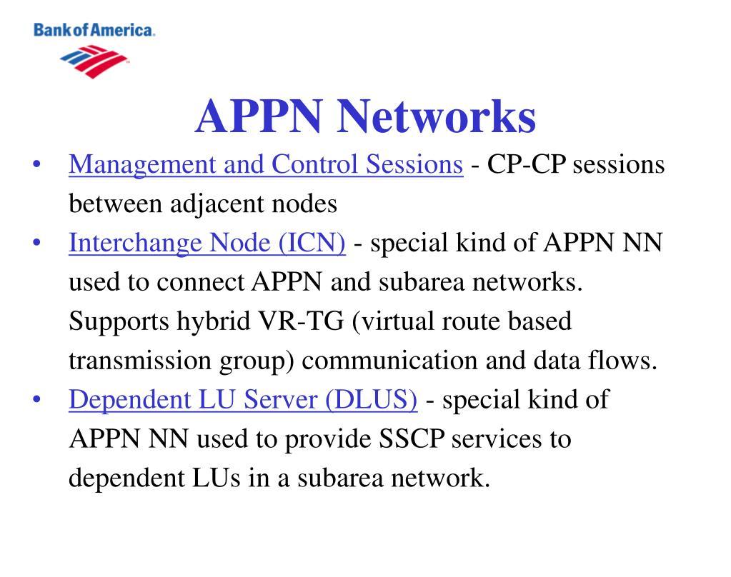 APPN Networks