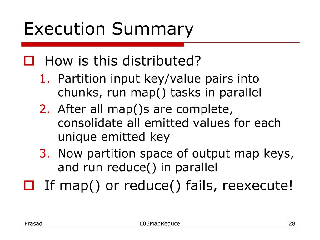 Execution Summary