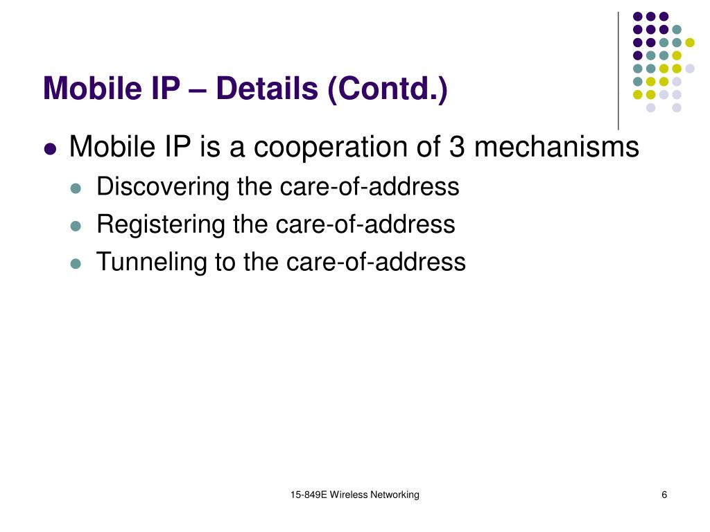 15-849E Wireless Networking
