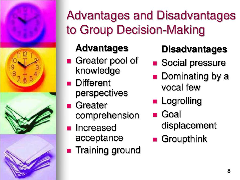 Group Decision Making Advantages 84