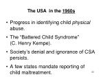 the usa in the 1960s