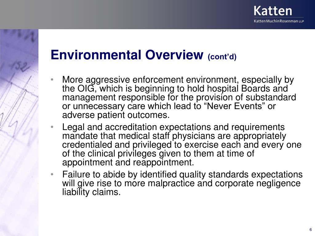 Environmental Overview