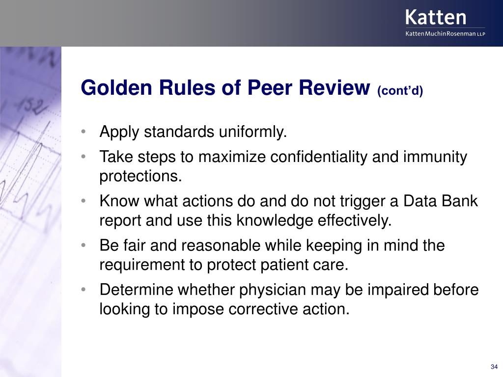 Golden Rules of Peer Review
