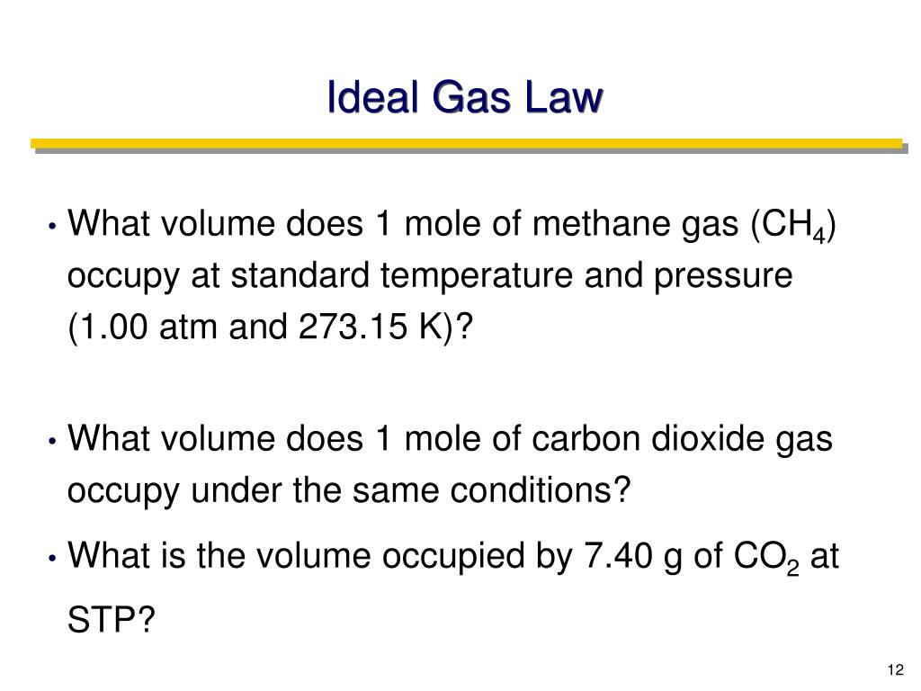 Ideal Gas Law