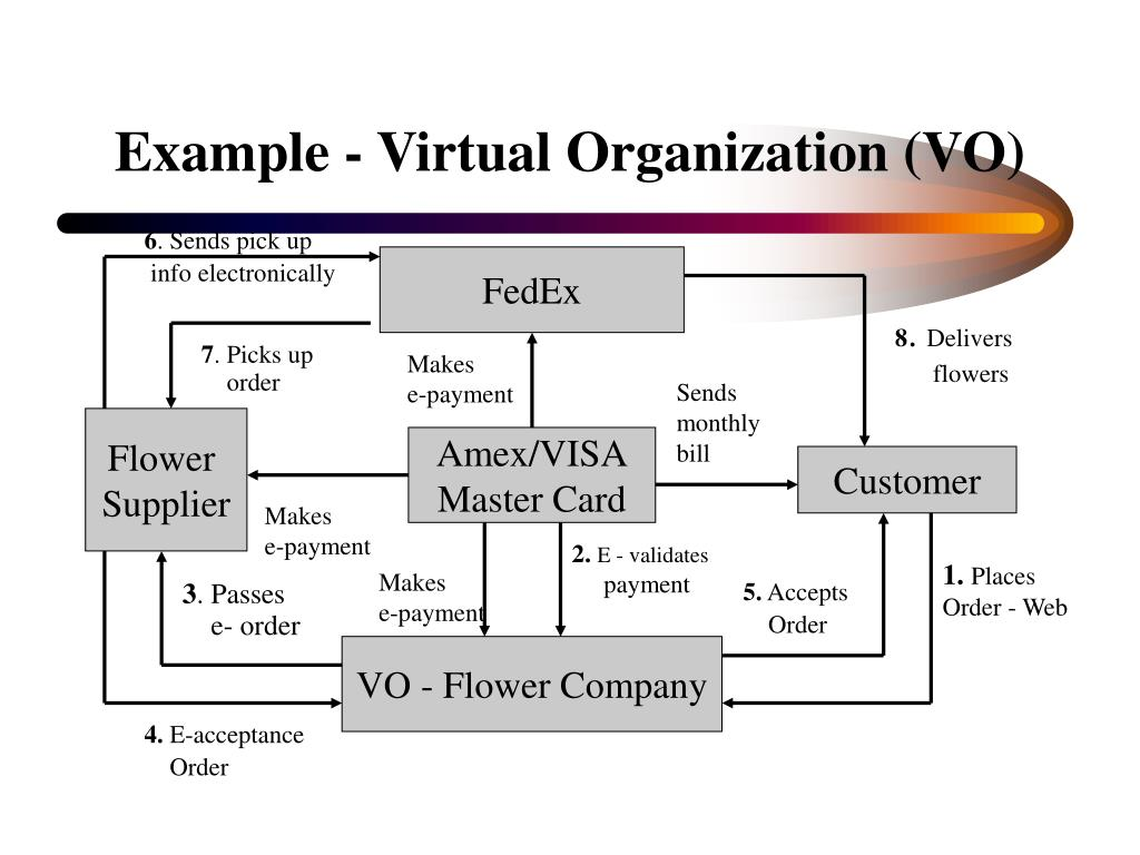 Example - Virtual Organization (VO)