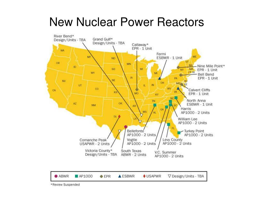 New Nuclear Power Reactors