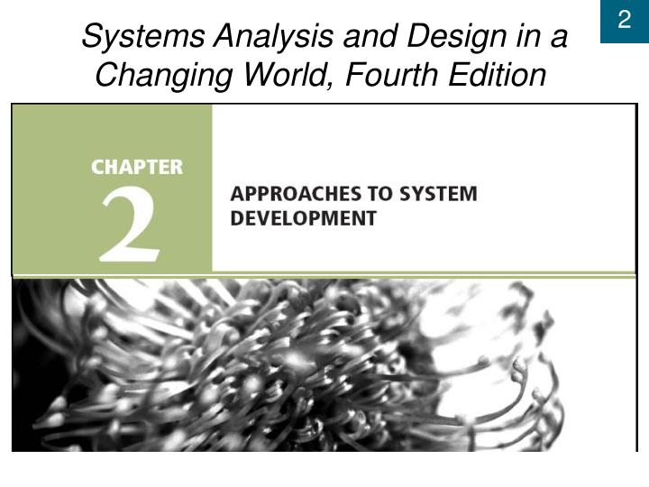 Systems analysis and design in a changing world fourth edition l.jpg