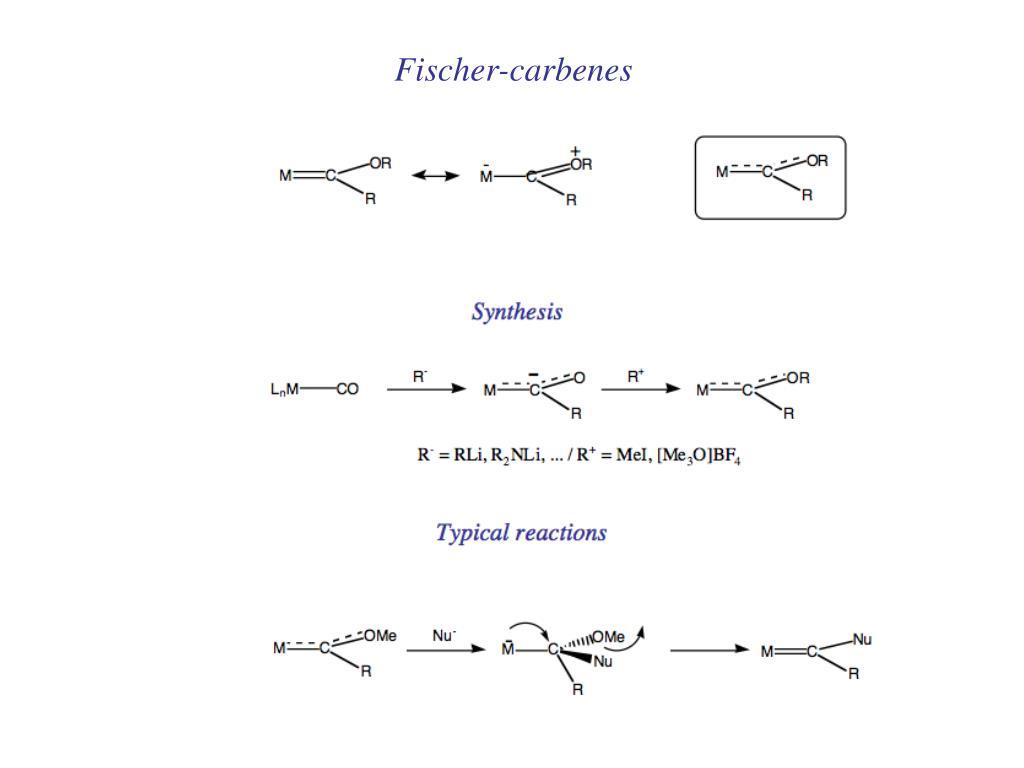 Fischer-carbenes