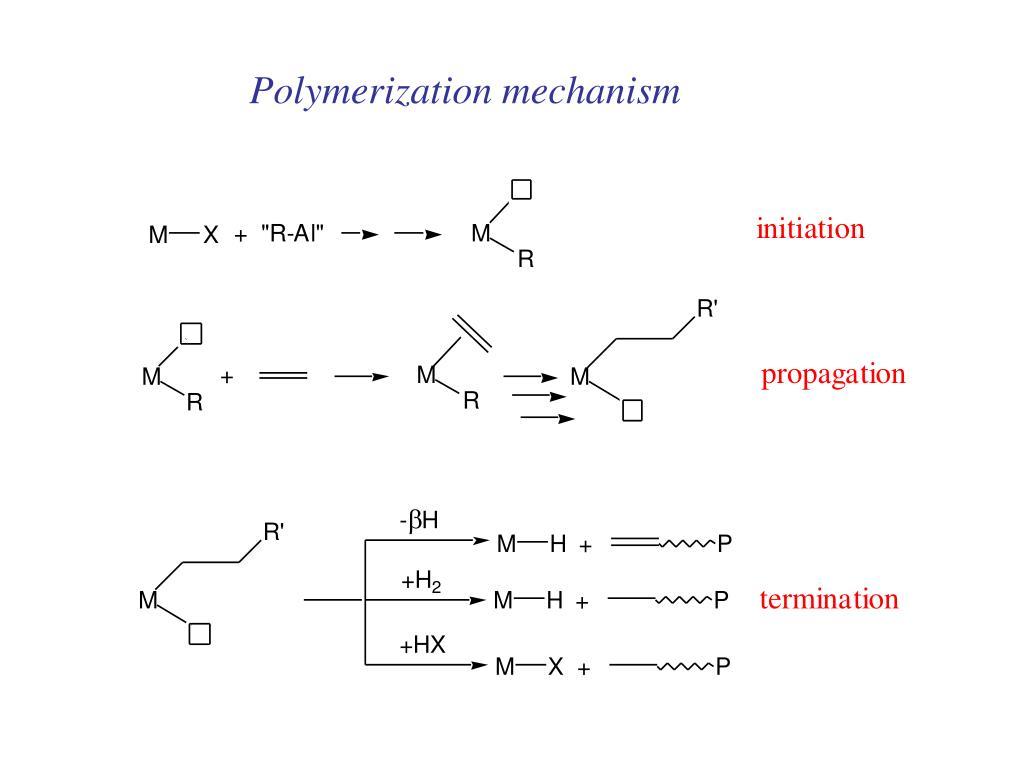 Polymerization mechanism