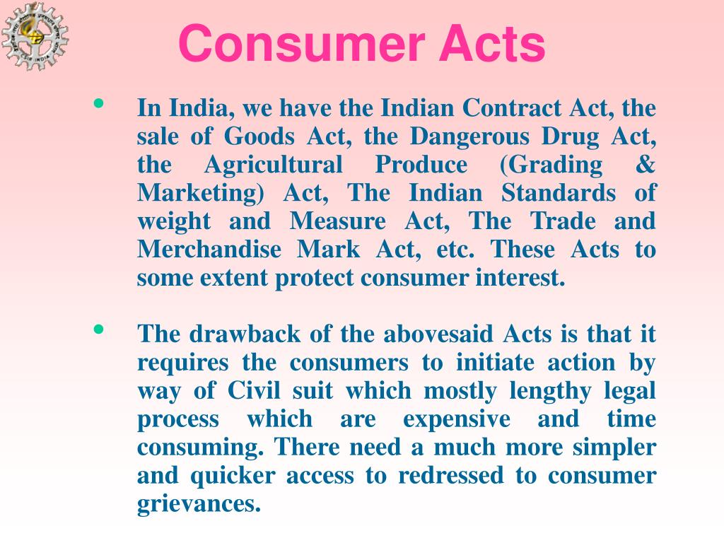 Consumer Acts