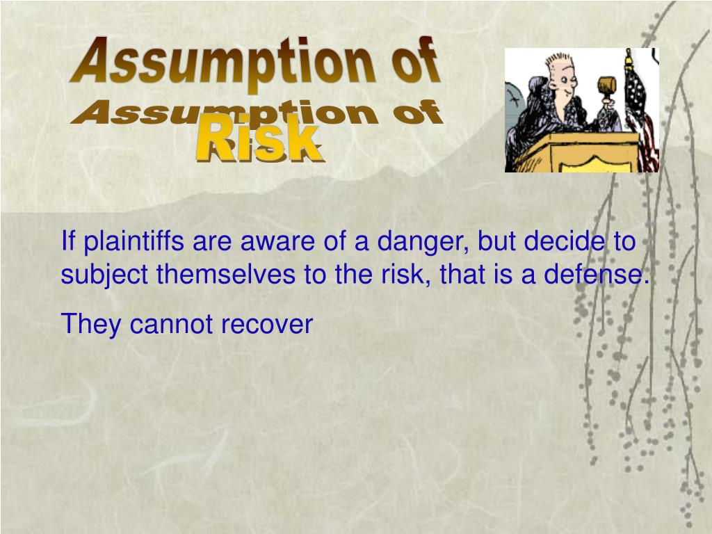 Assumption of