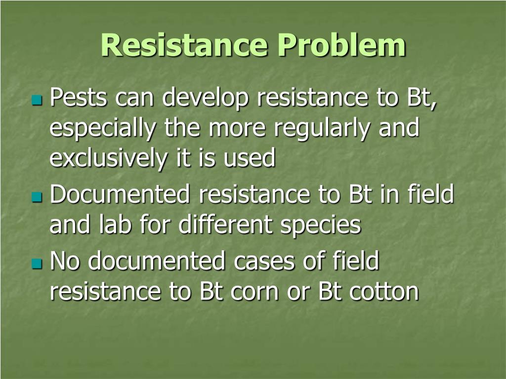 Resistance Problem