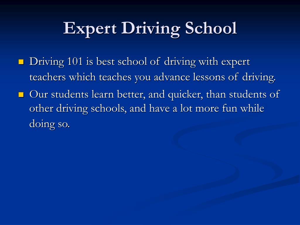 Expert Driving School