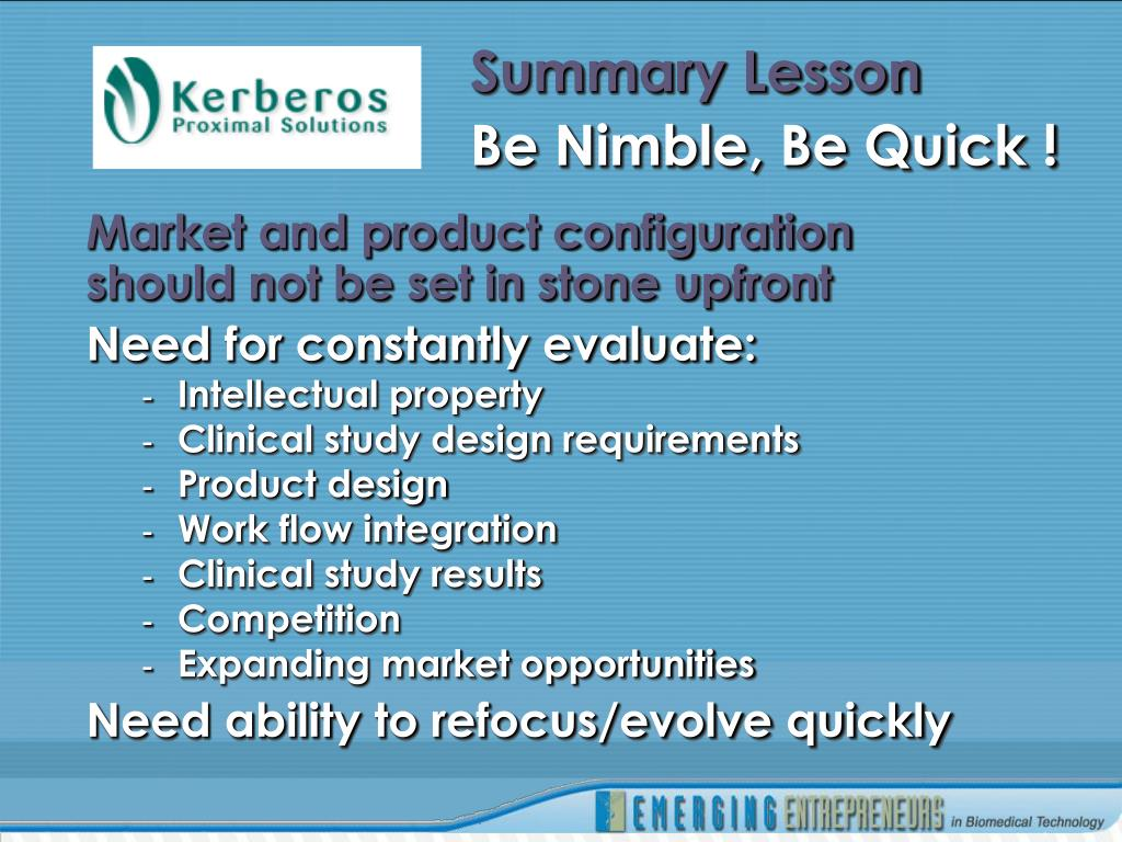 Summary Lesson
