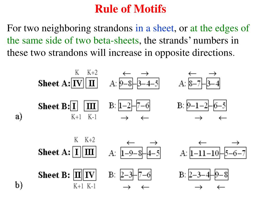 Rule of Motifs