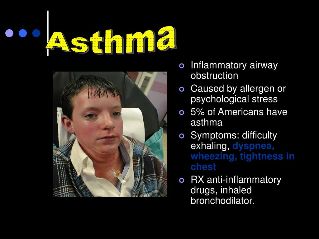 Inflammatory airway obstruction