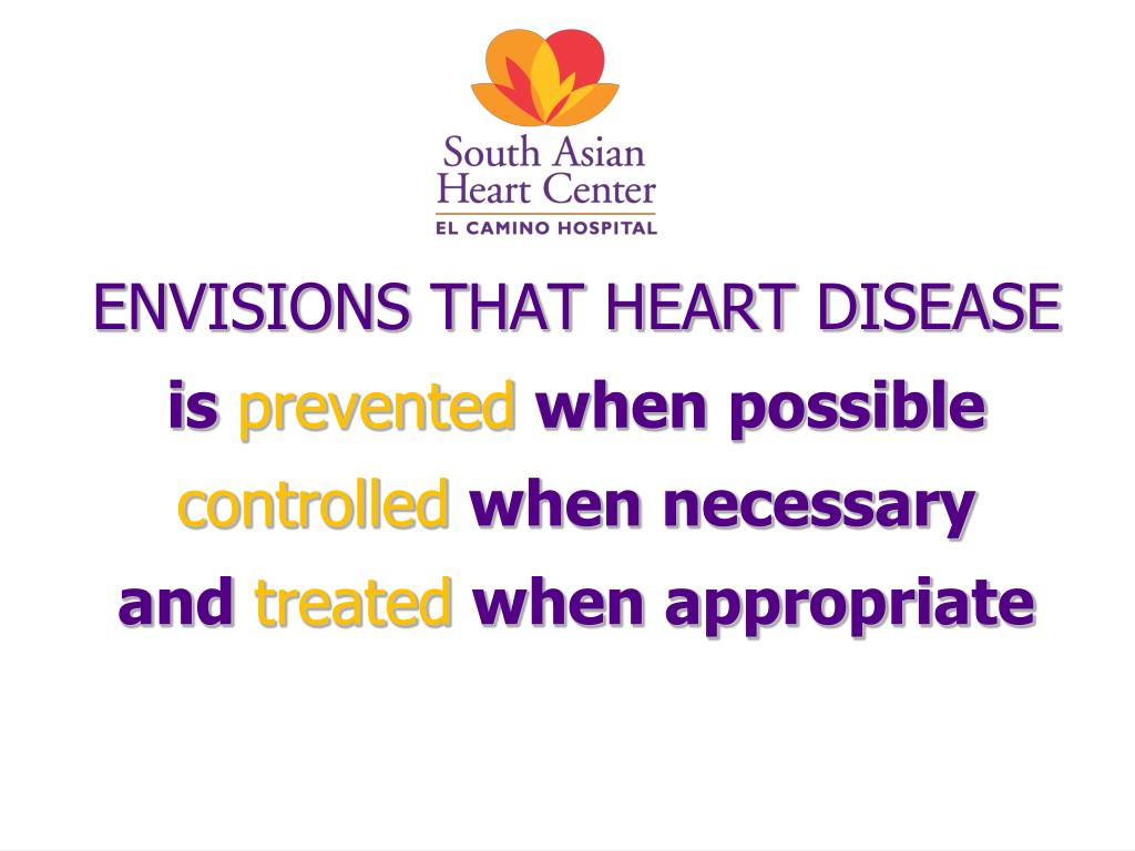 ENVISIONS THAT HEART DISEASE